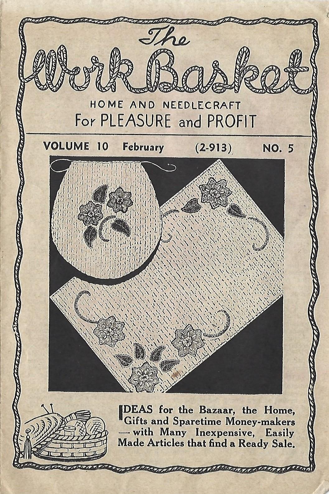 Little Grey Bungalow: Workbasket Magazine - February 1945