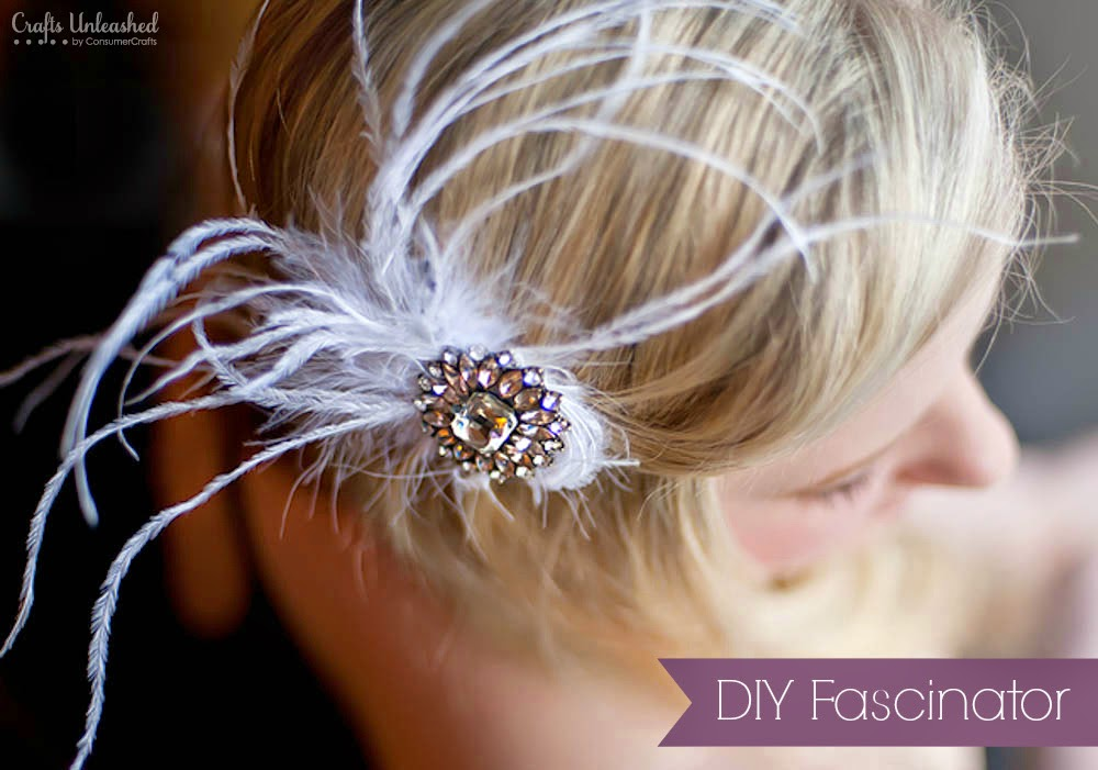 http://www.craftsunleashed.com/bridal-party/feathers-bling-fascinator/