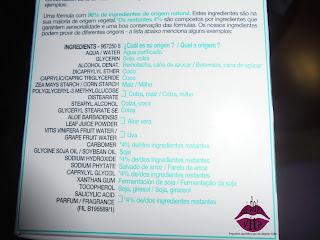 ingredientes hidratante con gel de aloe garnier