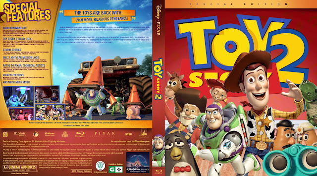 Toy Story 2 Bluray Cover