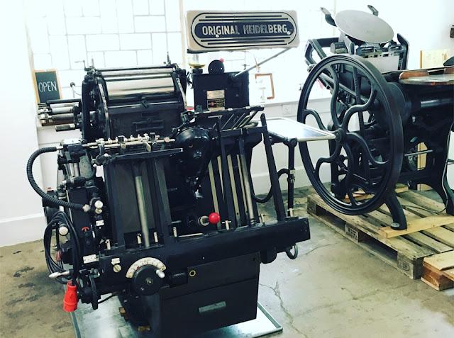 Chandler & Price, Heidelberger Tiegel, Druckpressen, Fuhrpark, Werkzeug, Maschinen