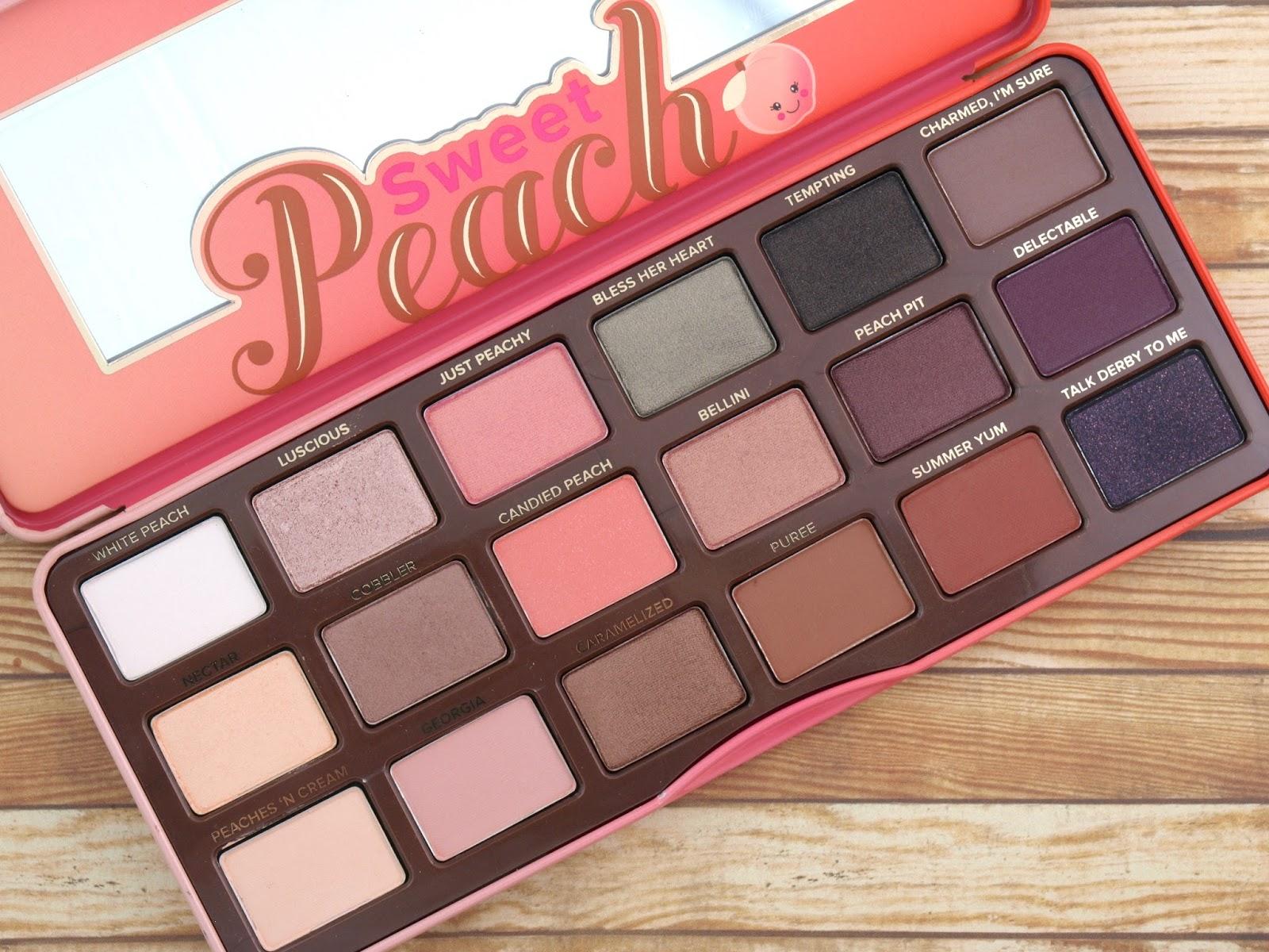 sweet peach palette # 62