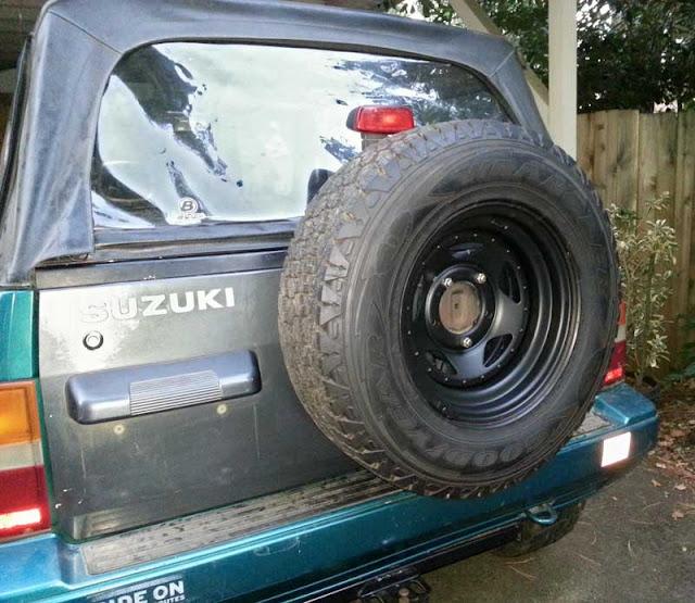 Wheel with Plasti Dip