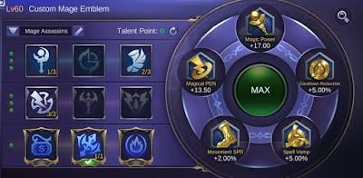 Emblem dan Talent Kimmy