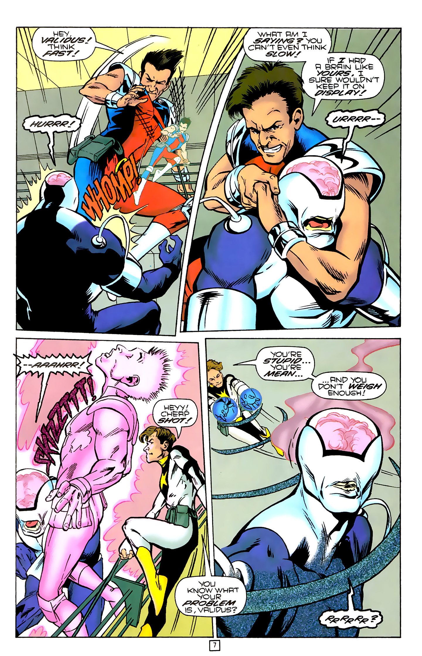 Legion of Super-Heroes (1989) 79 Page 6
