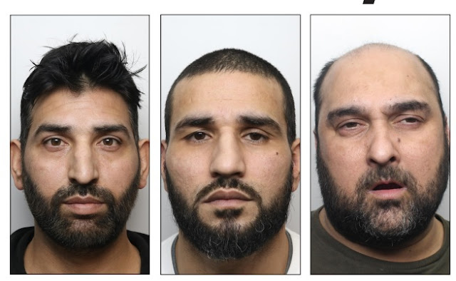 Three men jailed over transfer of nearly £32,000 of criminal money