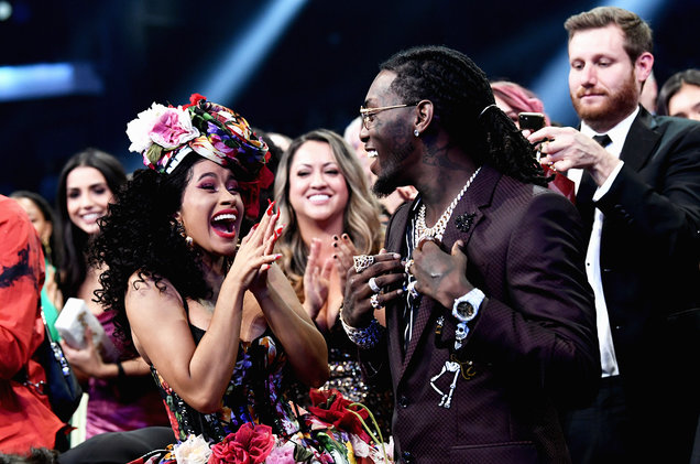 """Cardi B has announced that her and Offset are splitting up.  In an Instagram video post, Cardi said that she has """"been trying to work things out with my baby father for a minute now...but things haven't been working out between us for a long time."""""""