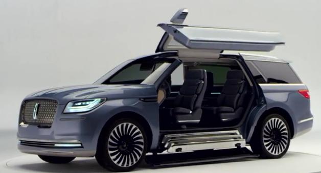 2017 Lincoln Navigator Concept Design