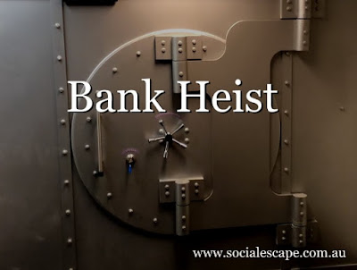 Social Escape Rooms - Bank Heist Review