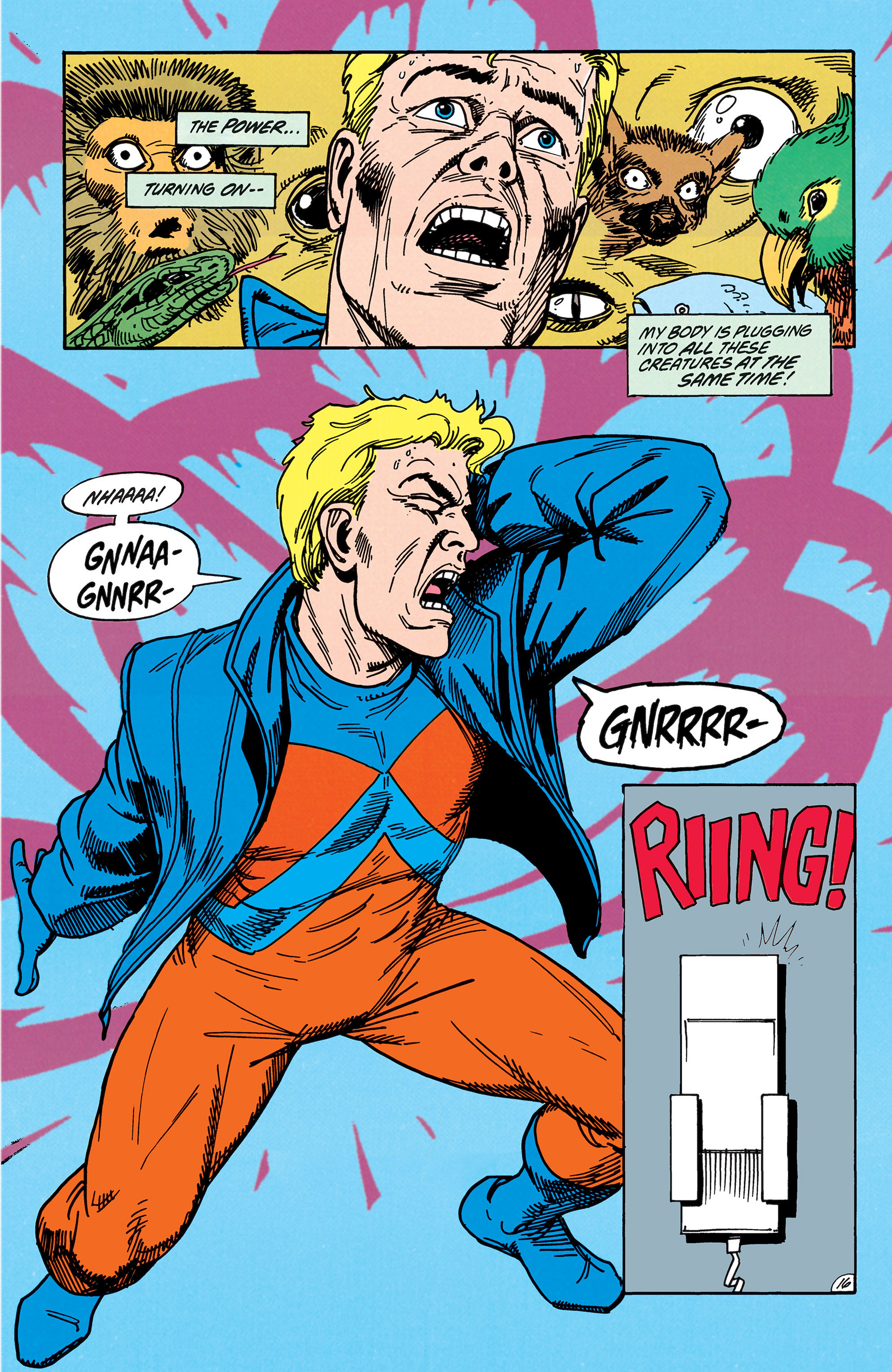 Read online Animal Man (1988) comic -  Issue #38 - 17