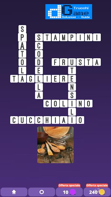 Soluzioni One Clue Crossword livello 7 schemi 6 (Cruciverba illustrato)  | Parole e foto