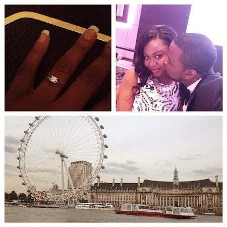 DJ Exclusive and Fiance Atinuke Ogundero photos