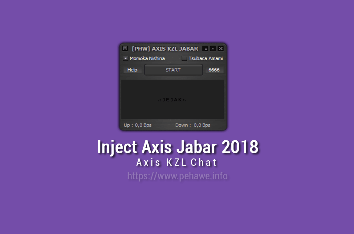 Inject Axis KZL Chat Jabar 2018