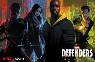 The Defenders Series Banner Poster