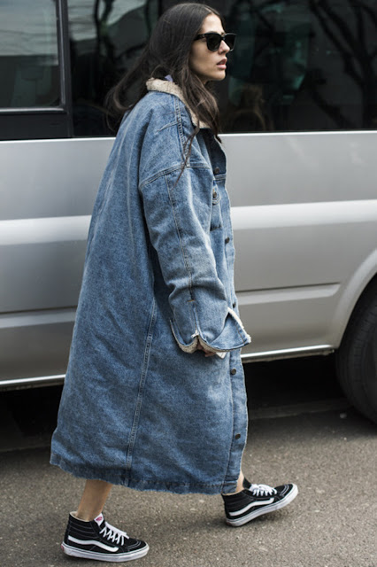 denim jacket long outfit