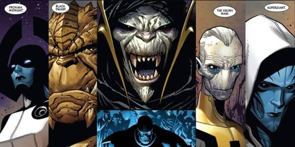 black order Perbedaan Film Avengers: Infinity War dengan Komik