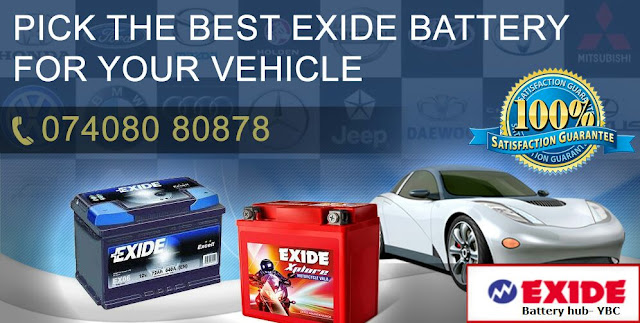 Pick up Best Exide Battery For Your Vehicle