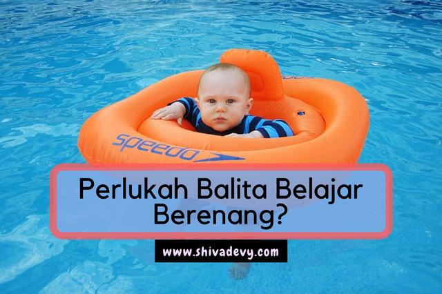 Perlukah Balita Belajar Berenang?