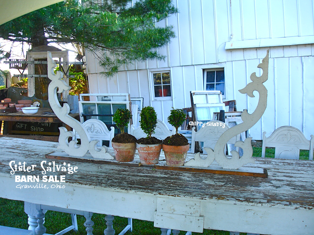ChiPPy! - SHaBBy!: SISTER SaLVaGE ~ Best Barn SaLe in ...