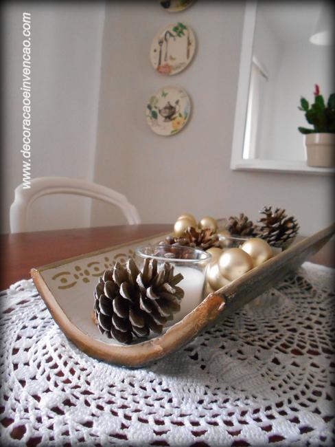 idéias de natal com pinhas