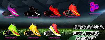 PES 2018 Nike Mercurial Classic Mini Pack by LPE09