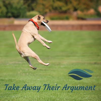 Take away their argument.