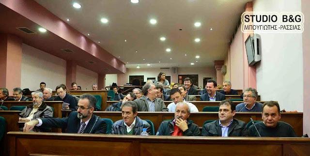 Δημοτικό Συμβούλιο στο Άργος στις 14 Μαΐου