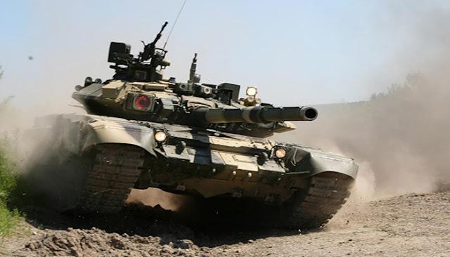 اتفاق عراقي روسي لتزويد العراق بدبابات تي-90