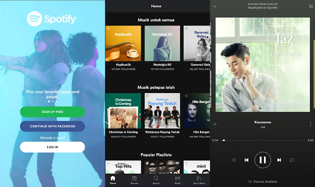 Download Spotify Music Premium Apk Mod v8.4.33.536 Update