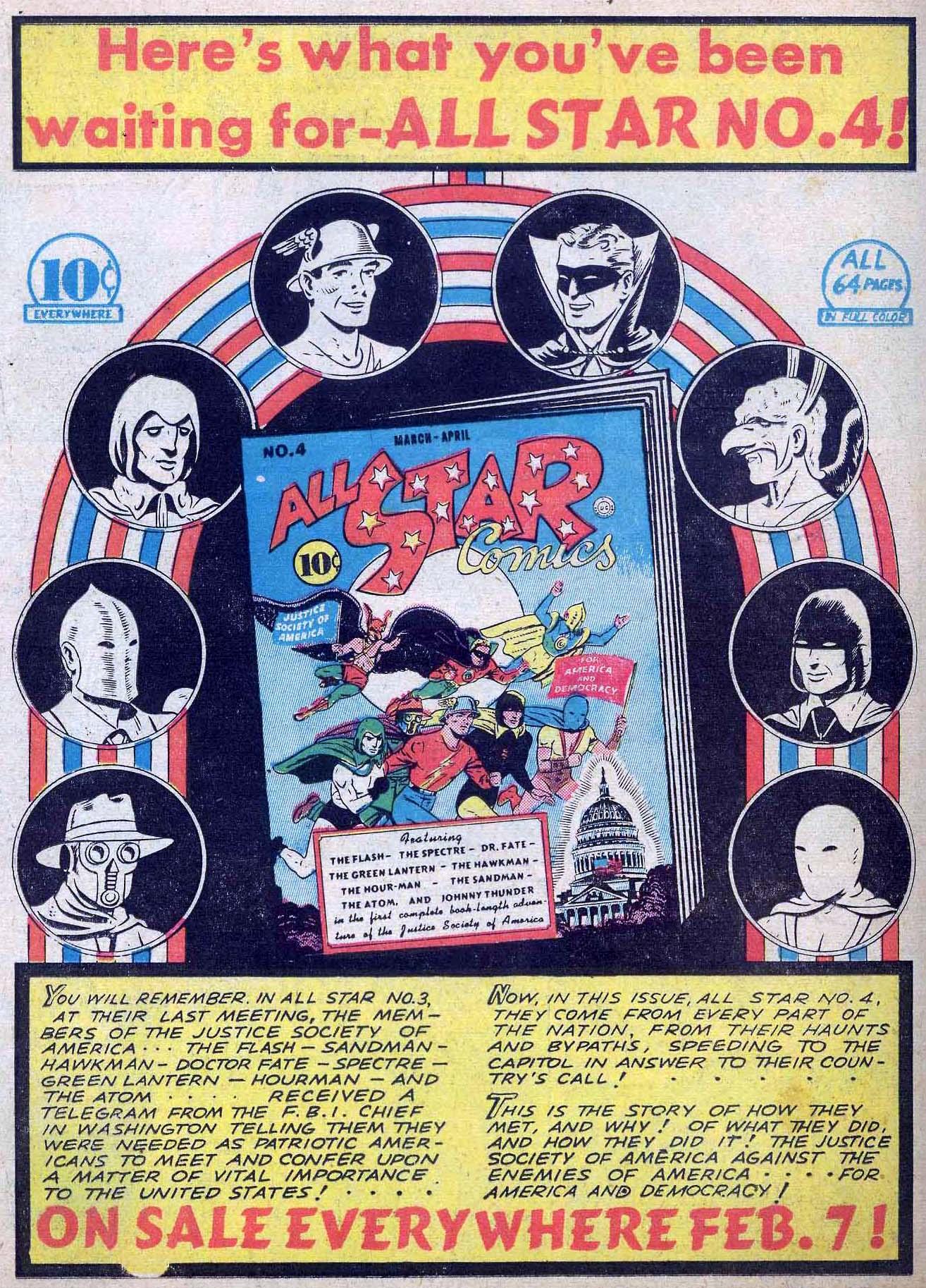 Read online All-American Comics (1939) comic -  Issue #24 - 66