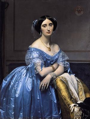 Jean-Auguste-Dominique Ingres, Princess de Broglie