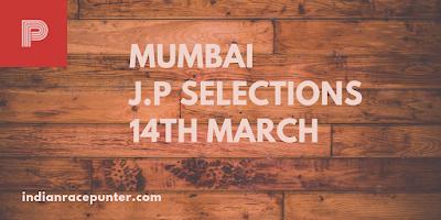 Mumbai Jackpot Selections 14th March, 2019, Indiarace com