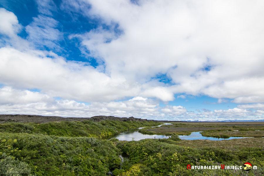 Herðubreiðarlindir, Islandia