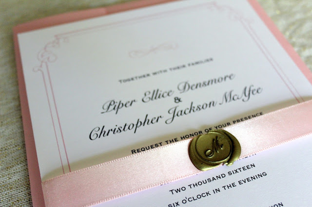 Piper Ellice  How I Saved Hundreds Using Vistaprint for My Wedding - wedding program inclusions