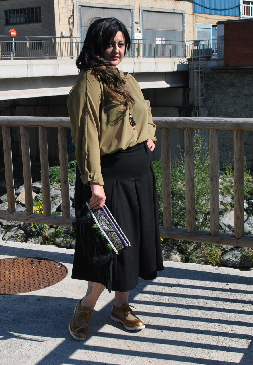 63ffb5c92 Look falda pantalón   Diy & glam
