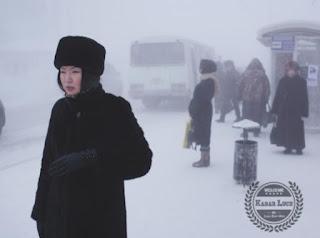 Kota Terdingin Suhunya Dibawah 71 Celcius