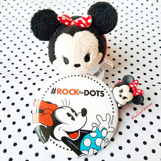 Rock the Dots Button from Downtown Disney 2017