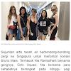 Nonton Konser Bruno Mars di Singapura, Penampilan Girls Squad Bak ABG Malah Diceramahi Netizen