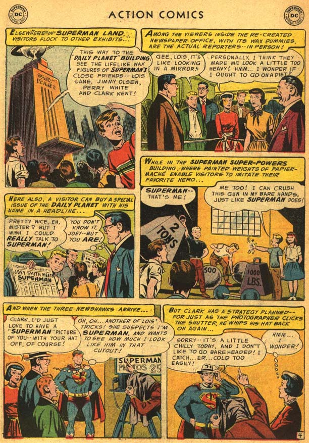 Read online Action Comics (1938) comic -  Issue #210 - 8