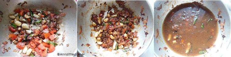 How to make Poondu Puli Kuzhambu - Step 3
