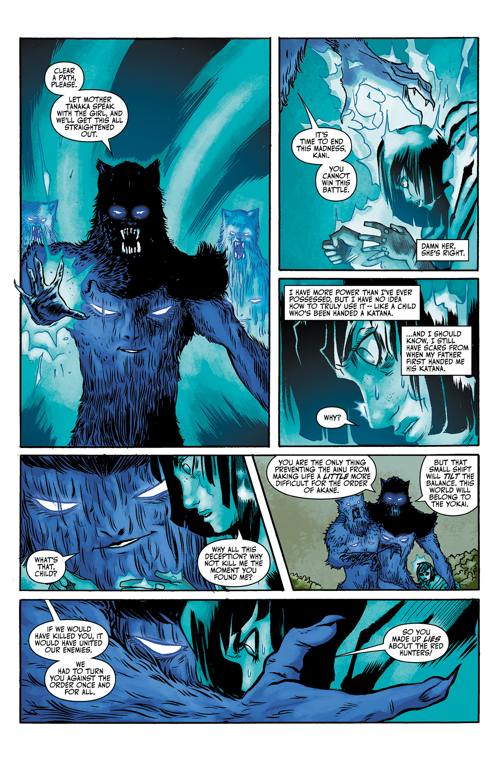 Read online Akaneiro comic -  Issue #3 - 6