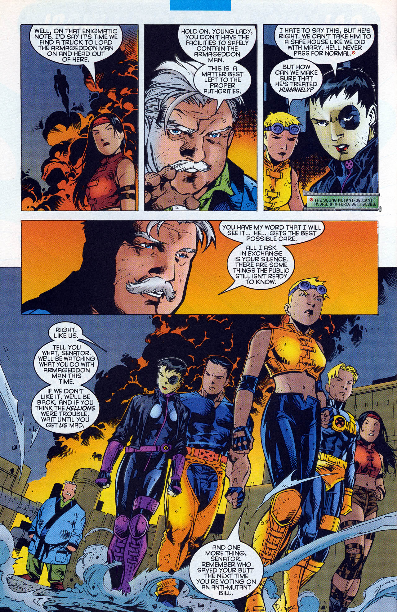 Read online X-Force (1991) comic -  Issue #90 - 27