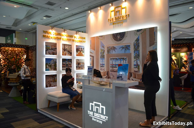 The District Boracay Exhibit Booth