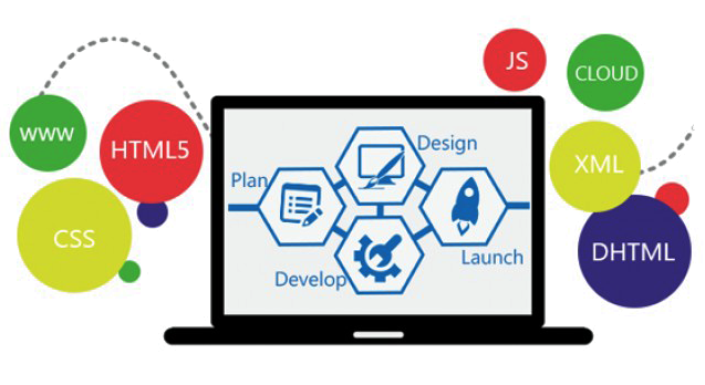 Web design company website