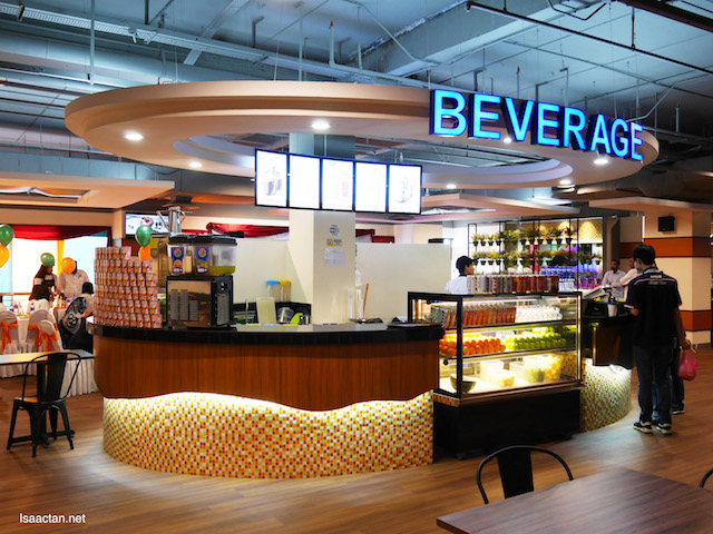 Beverage counter