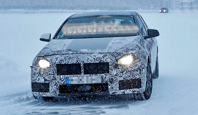 2019 BMW 1 Series spied during winter testing
