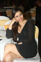 Kyra Dutta in black At Rogue Movie Audio Launch ~  089.JPG