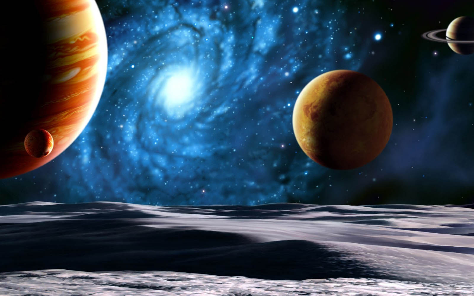 Wallpaper: Planets In Space Wallpapers