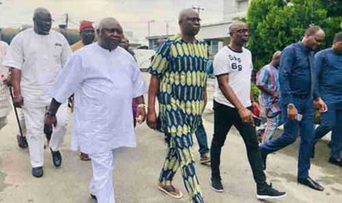 Fayose finally meet bail conditions, released from EFCC custody