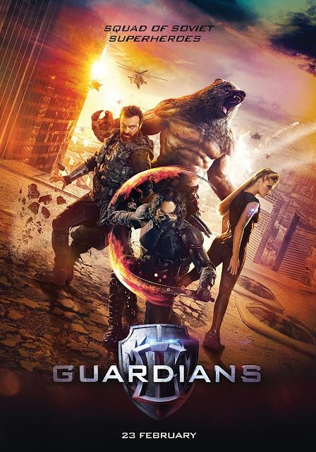 Guardian, o esquadrão de super heróis soviéticos